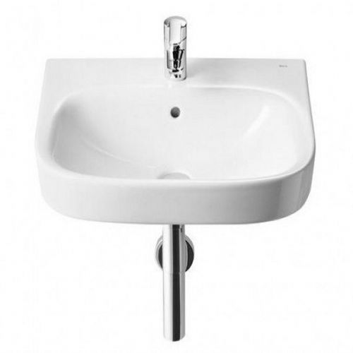 Roca Debba Wall Hung Basin - 400mm - 1 Tap Hole - White